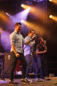 Da Capo Festival 2012: Fotos von The Baseballs und The Mofos live in Alzey