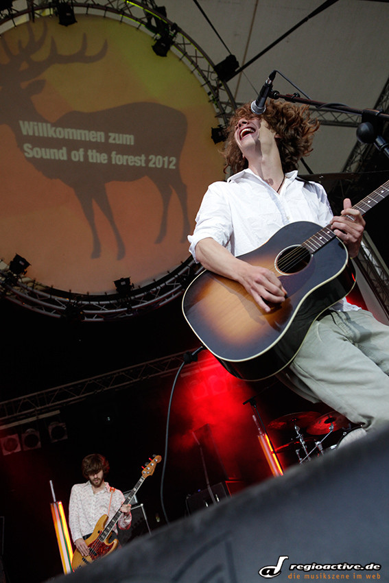 Max Prosa (live auf dem Sound of the Forest Festival-Freitag 2012)