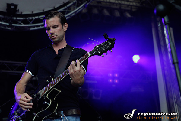 Aus der Nähe - Fotos: K-Rings live beim Sound of the Forest 2012